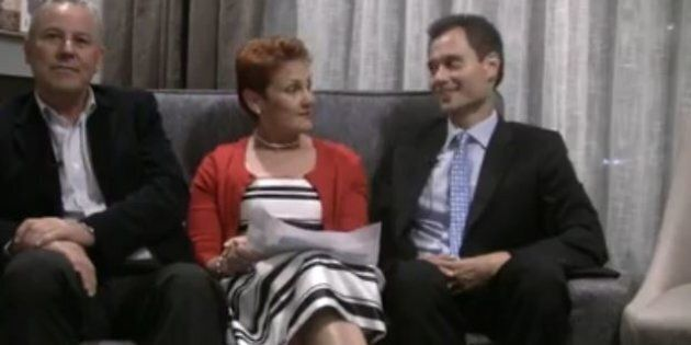 Pauline Hanson Can't Pronounce An Asian One Nation Candidate's