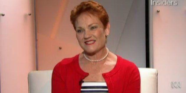 Pauline Hanson on Insiders on