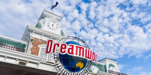 The Facade of Dreamworld Gold Coast entrance