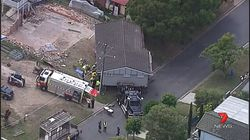 Queensland Man Taken To Hospital After House Falls On