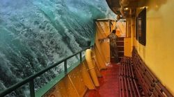 Sydney Man Snaps Captivating Images Of Giant Waves Lashing The Manly