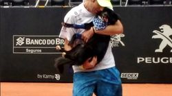 These Puppy Ball Boys At The Brazil Open Were The Cutest Helpers