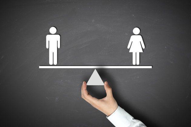 Women earn 77 percent of men's average full-time