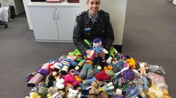 A NSW Police Officer Is Helping Trauma Teddies Reach Children In Times Of