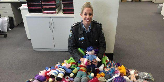 Leading Senior Constable Emma with the Trauma