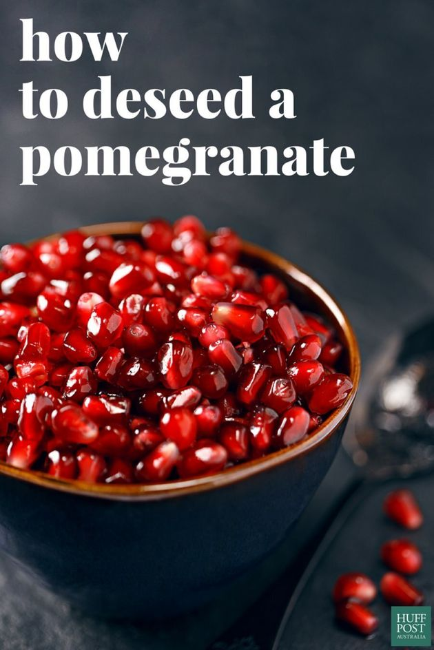 Pomegranate perfection, in under five
