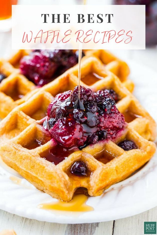 These Waffle Recipes Are Serious Brunch