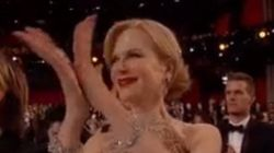 Nicole Kidman Explains That Weird Oscars Clapping