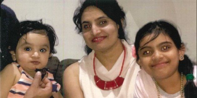 Rupinder Bassi and her two young children went missing for three