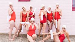 This Synchronised Swimming Squad Is Getting Real About