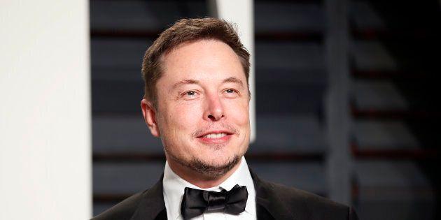 Tesla co-founder Elon Musk said he was