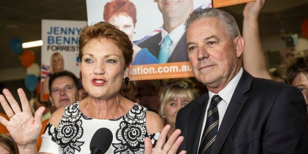 Pauline Hanson and One Nation had a disappointing