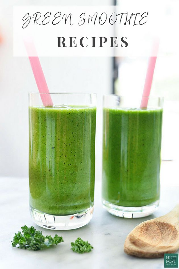6 Green Smoothies That Don't Taste Like