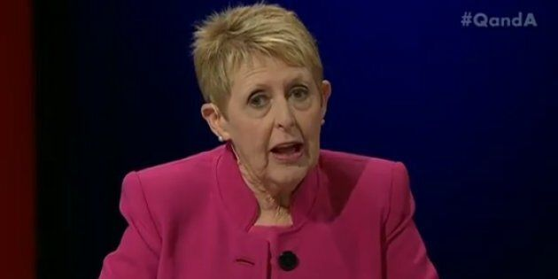 Q&A panelist Mem Fox describes her 'appalling' experience of being detained in the United States in February.