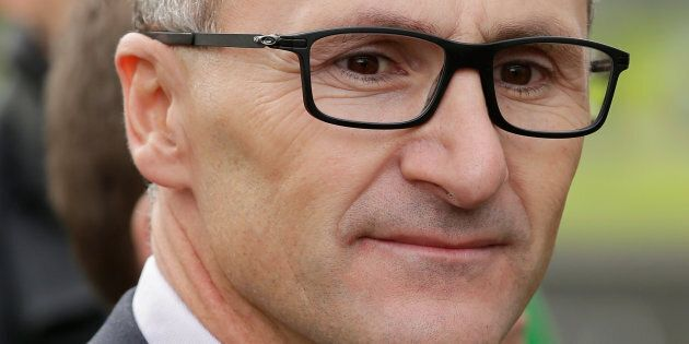 The Greens leader Richard Di Natale is expected to speak at the national press club on