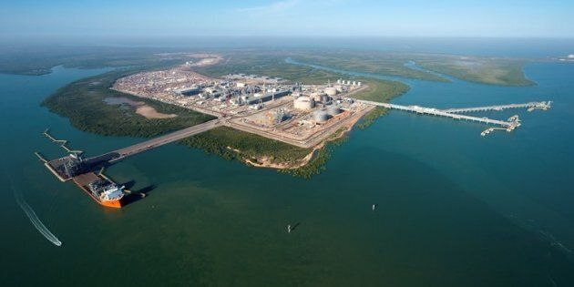 The Inpex Ichthys LNG project in