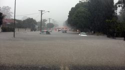 Wollongong Is Copping An Insane Drenching And Crazy