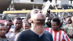 Human Fountain Can Spit Water For Nearly A