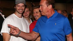 'Crazy Scenes' As Arnold Schwarzenegger Meets Fans In