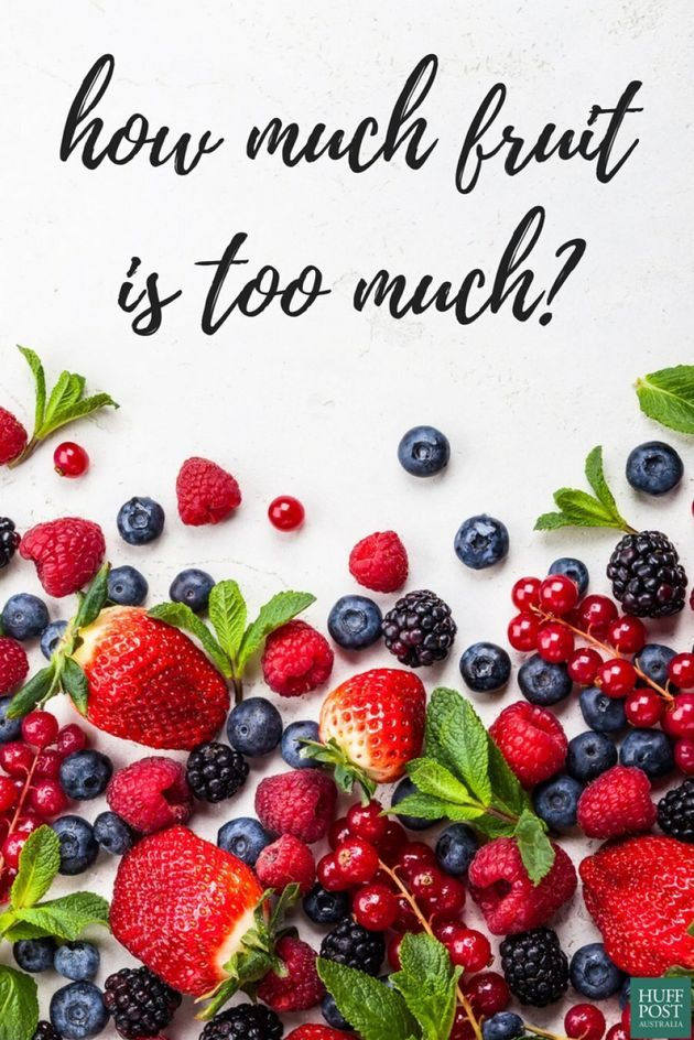 How Much Fruit Is Too Much, According To Health