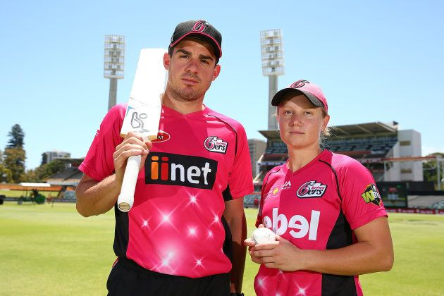 Moises Henriques and Alyssa Healy are both superstars, but the big fella will earn a lot more.