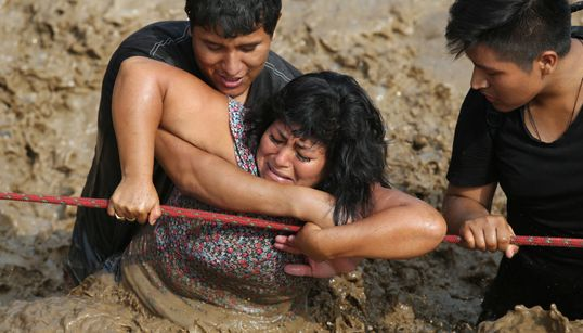 Shocking Images Reveal The Devastating Toll Of Peru's