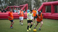 A Homeless Soccer Tournament Took Over Parliament