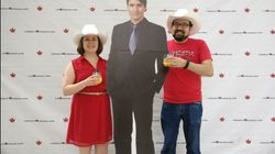 Canada Bans Diplomats From Using Life-Size Justin Trudeau Cutouts At