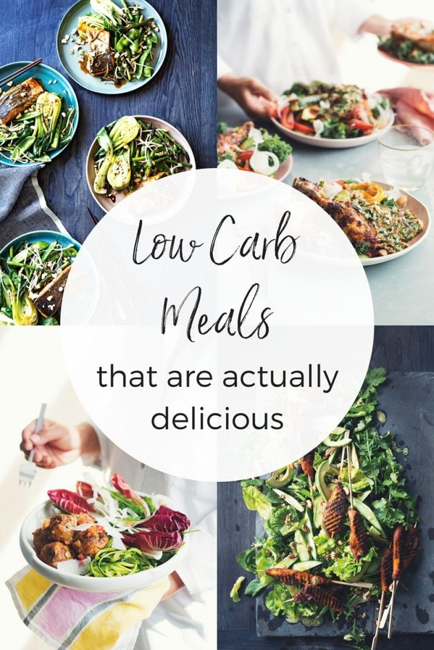 These 4 Low Carb Meals Are Actually