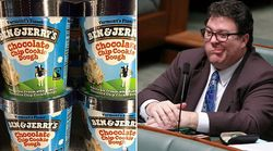 George Christensen Is Boycotting Ben & Jerry's Ice