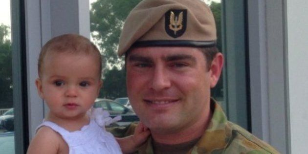 Trooper Donaldson's service to the Australian Armed Forces has been officially