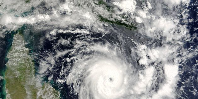Queensland residents are bracing for Tropical Cyclone Debbie as it tracks towards the
