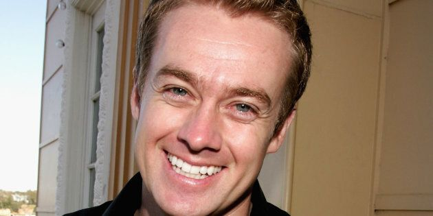 TV host Grant Denyer has escaped a car crash in