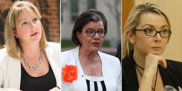 Rebekha Sharkie, Cath McGowan and Skye Kakoschke-Moore want to see a Minister for