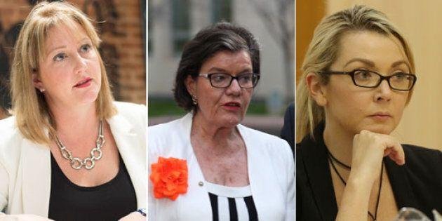 Rebekha Sharkie, Cath McGowan and Skye Kakoschke-Moore want to see a Minister for