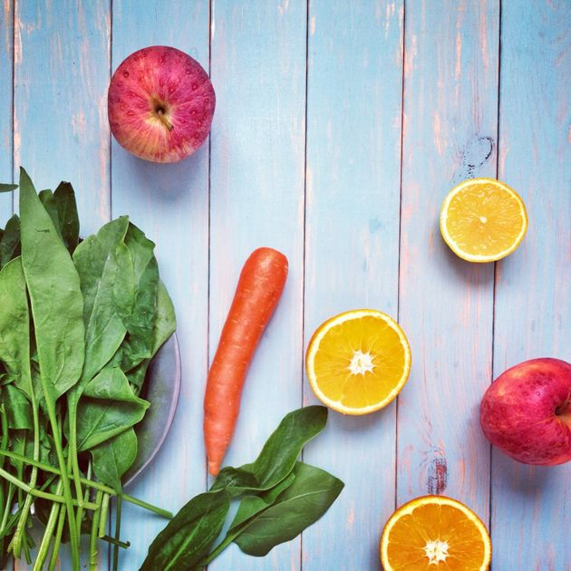 Fruit and veggies are packed with fibre to help