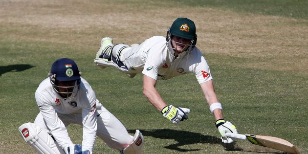 Steve Smith's diving ability was obviously not one of the reasons.