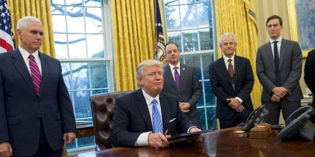 United States President Donald Trump signed an anti-abortion executive order, which blocks US funding...