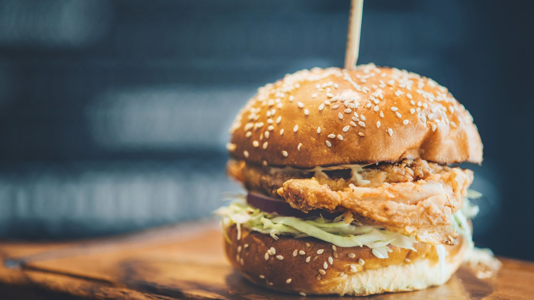 How To Make Seriously Tasty And Easy Fried Chicken Burgers Huffpost Australia Food Drink
