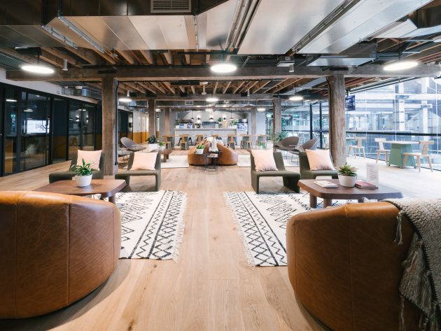 WeWork's new Pyrmont office.