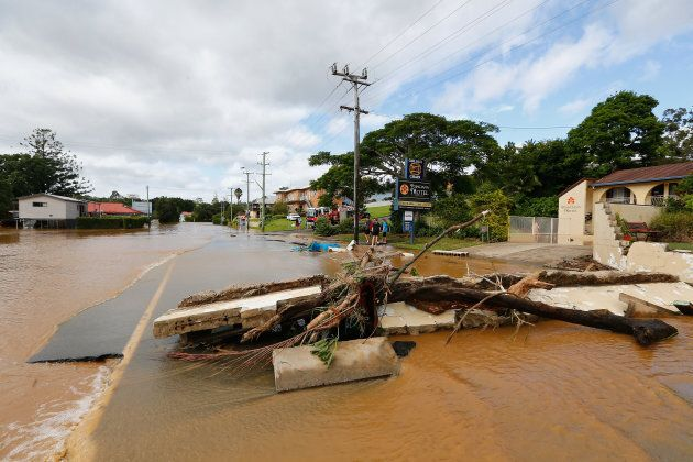 Woman's Body Found Near Murwillumbah In NSW Floodwaters As Levee Breaches In