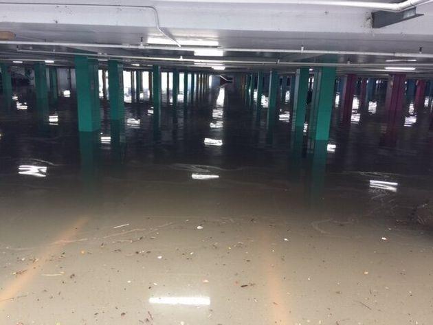 400mm of rain fell in Lismore last night, causing widespread