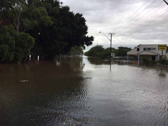 Lismore has received more than double the amount of rain it normally receives across the whole of March.