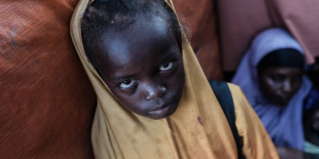 When a famine is declared, it means four out of every 10,000 children are dying every