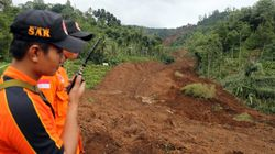 Dozens Buried In Landslide In Java,