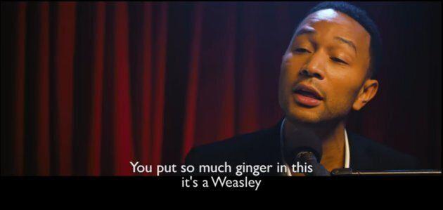You Need To See John Legend Singing Gordon Ramsay