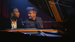 You Need To See John Legend Singing Gordon Ramsay