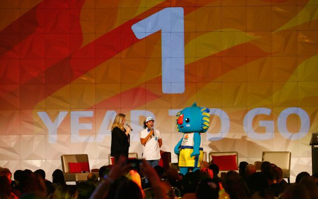 Just one more year of Borobi the red-nosed koala.