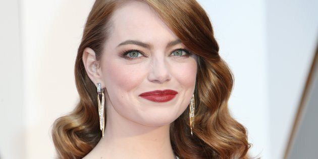 Emma Stone, thank you for making red hair sexy again.