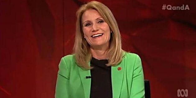 Former Prime Minister of Denmark Helle Thorning-Schmidt on ABC's